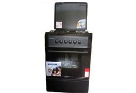 BRUHM 50X50 4 Burner Gas Cooker Black ¦ BGC-5540SB