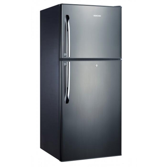 BRUHM 418Litres Black Glass Frost Free Series Refrigerator | BFG-450EN