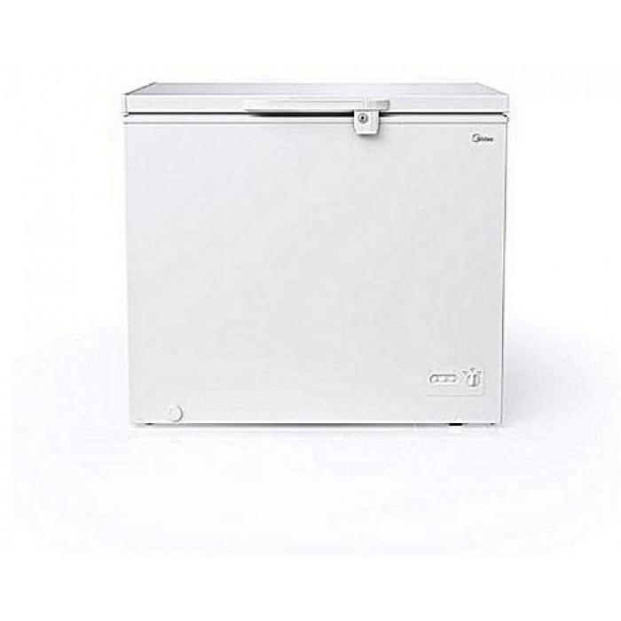 Midea 206L Chest Freezer Silver Colour HS-268C