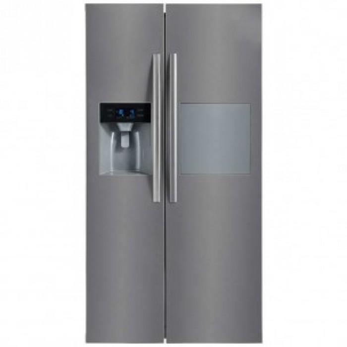 Midea 490L HC-657WEN Refrigerator   R600a Gas   SS Look   Freezer Room Ice Maker