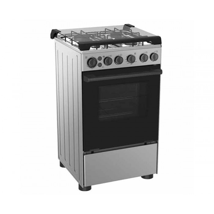 Midea 3 Gas + 1 Electric Gas Cooker 50*55 Grill Oven 20BMG4Q007-S