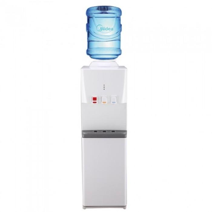 Midea 15L 3 Faucets Water Dispenser Cabinet YL1740S-W