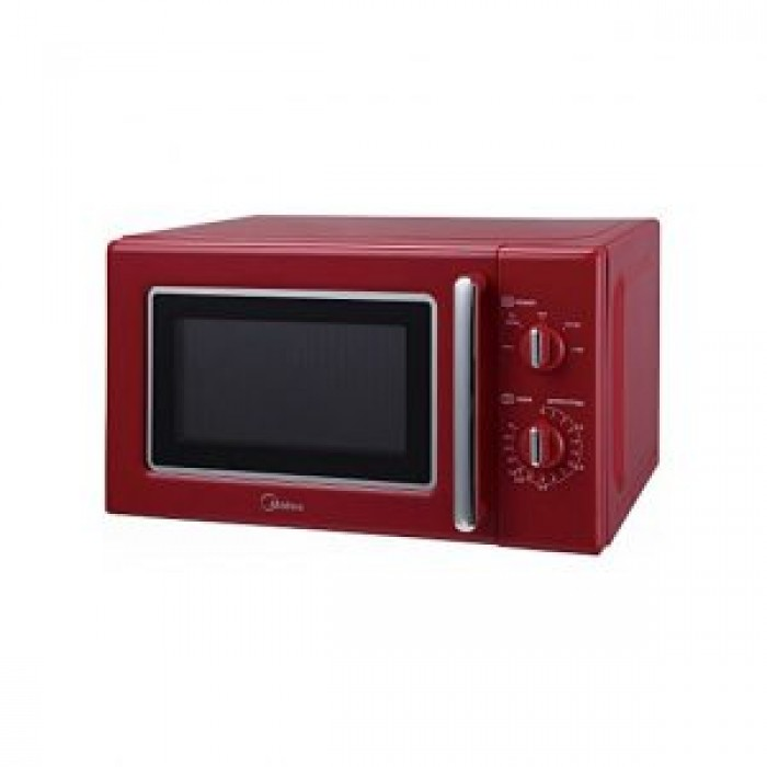 Midea 20L MM720CE6-PM Microwave Oven Red