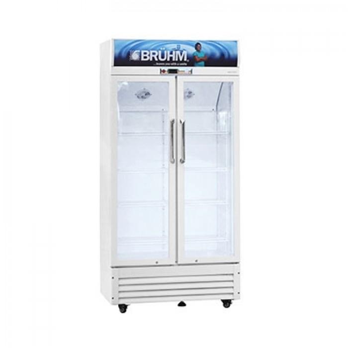 BRUHM 409L Double Door Beverage Cooler BBD-409M