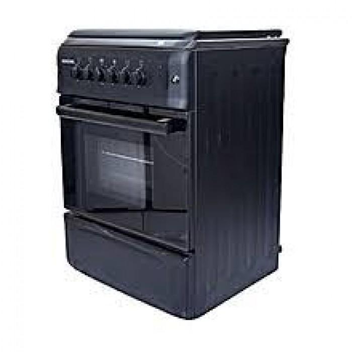 BRUHM 4-Burner 60cm x 60cm Gas Cooker BGC-6640G2 Black