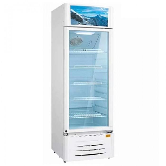 Midea 309L Beverage Cooler R600a White Colour Refrigerator HS-411S