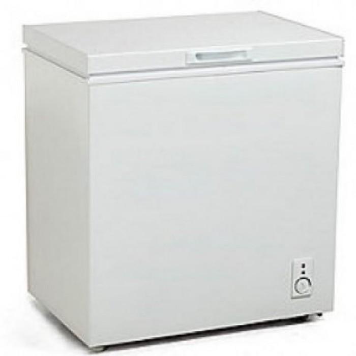 Midea 99L Chest Freezer HS-129  Outside Condenser R134a Silver Colour