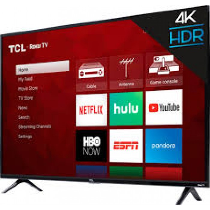 TCL 50 Inches Smart 4K UHD, Metal Slim Android Television (50P715)