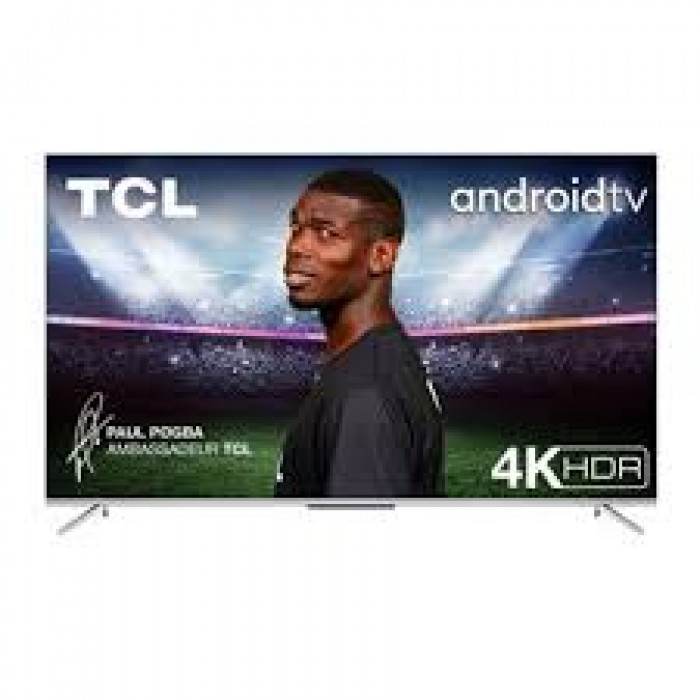 TCL 55 Inches Smart 4K UHD, Metal Slim Android Television (55P715)