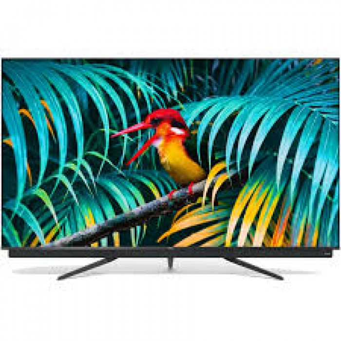 TCL 55 Inches Smart QLED Metal Slim Android Television (55C815)