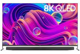 TCL 75 Inches 8K QLED, Metal Slim Android Television (75X915)