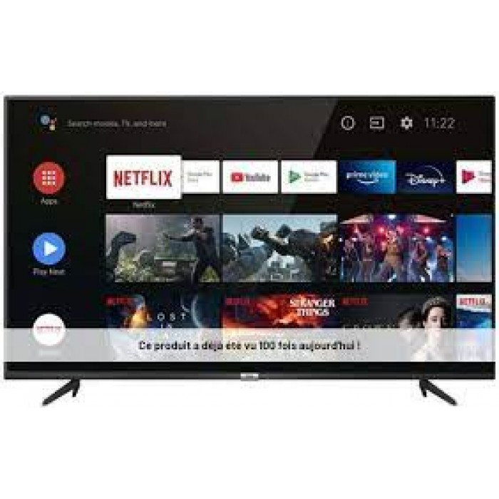 TCL 75 Inches 4K QLED, Metal Slim Smart Android Television (75P615)