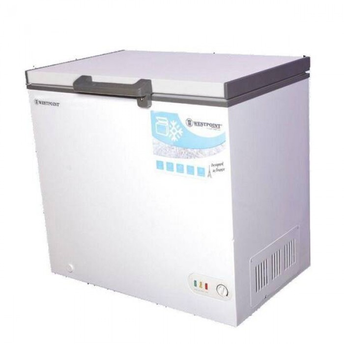 Westpoint 349L Chest Freezer Silver Colour   Made In Portugal   WBP-3819.ERLS