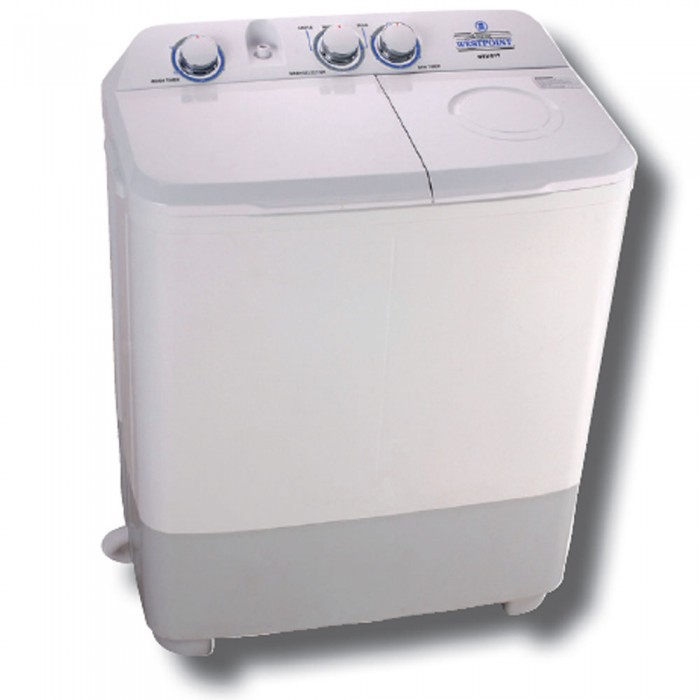 Westpoint 7kg Top Load Semi Automatic Twin Tub Washing Machine | WTX-717.P